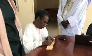 Le Secrétaire Général du CCME M. Abdoul Kane.