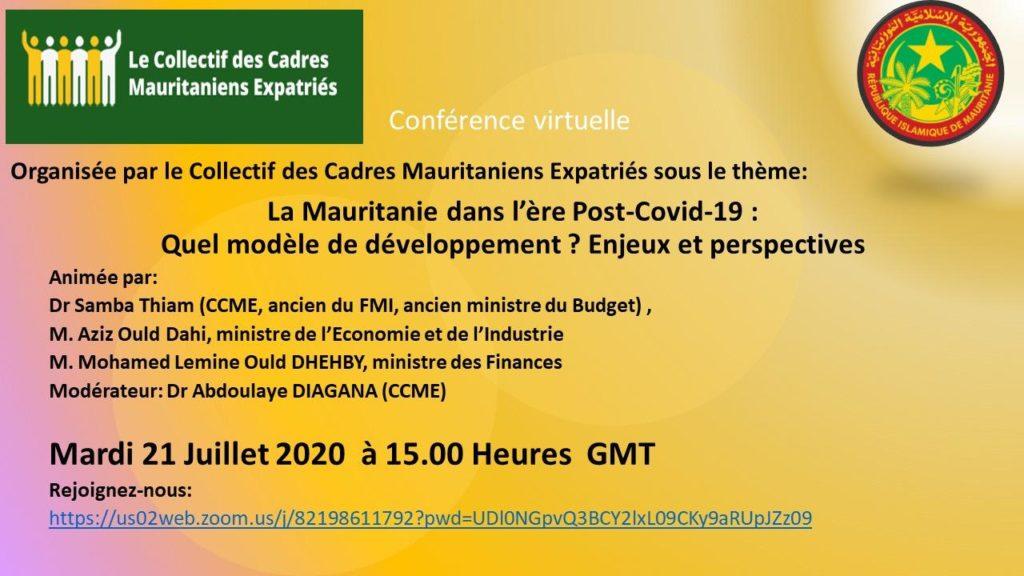 CCME Webinar : Economie Post Covid
